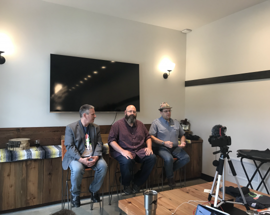 Paul Chiodo, Scott Alan Miller and Jared Busch